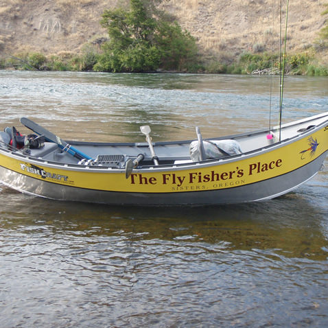 Fly Fisher's Place Drift Boat